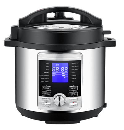 Geek Robocook Digi Automatic Electric Pressure cooker swtiched on