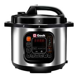 Geek Robocook Zeta Automatic Electric Pressure cooker switched on