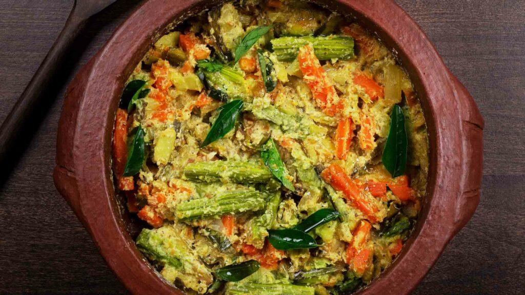 Vegetable Aviyal