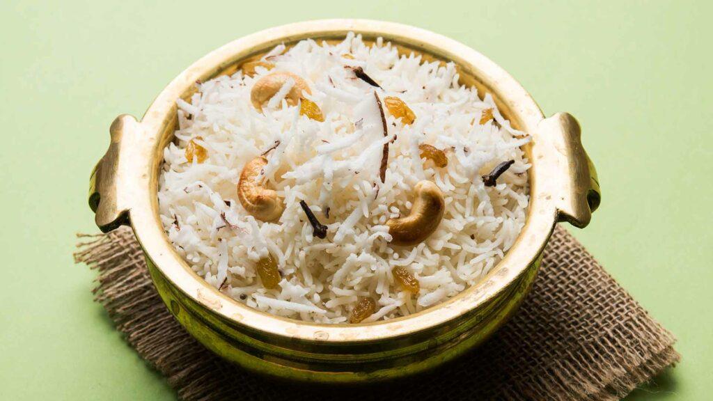 Coconut milk pulav