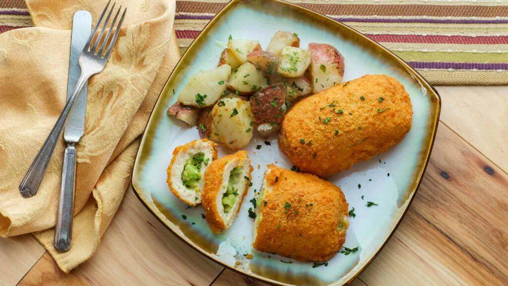 brocolli potato croquettes