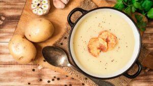Potato Leaks Soup