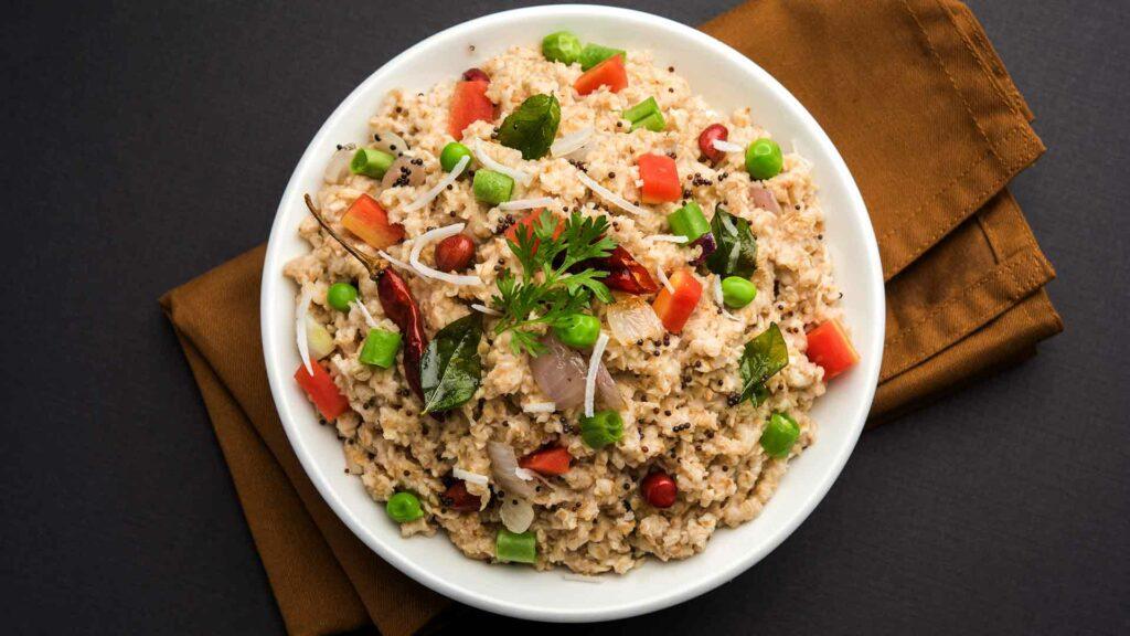 oats veg upma