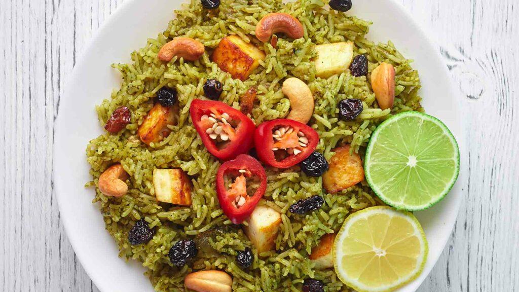 spicy palak recipe
