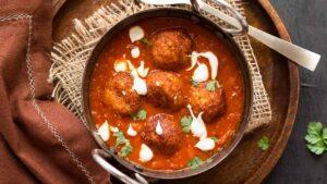 Dhal Kofta Curry