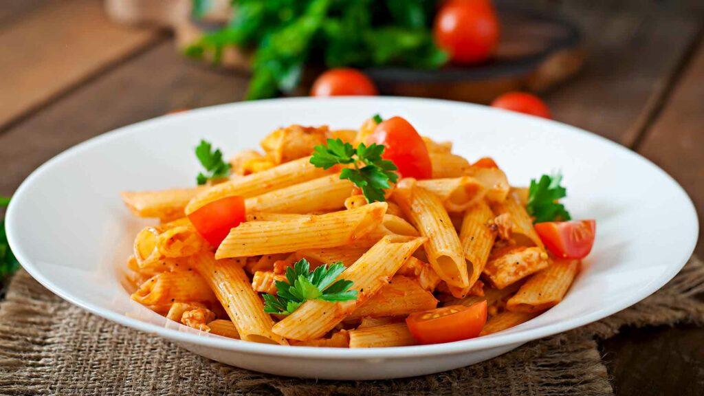 Indian Italian Pasta Fusion