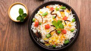 Veg continental rice
