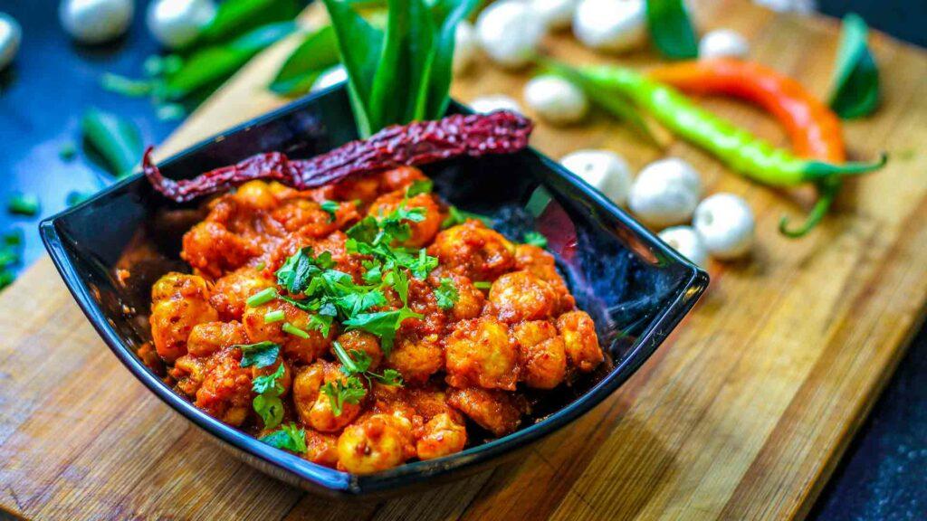 paneer potato makhana curry