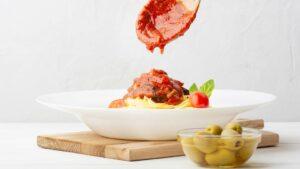 Homemade Red Italian Pasta Sauce