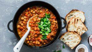 Mediterranean Vegetable And Chickpea Stew