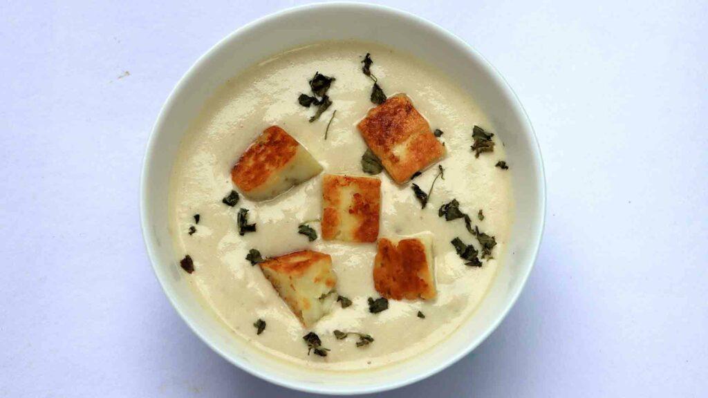 Nawabi Paneer curry