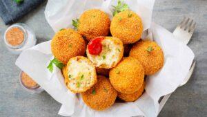 Risotto Cheese Balls