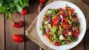 Vegetable pepper salt