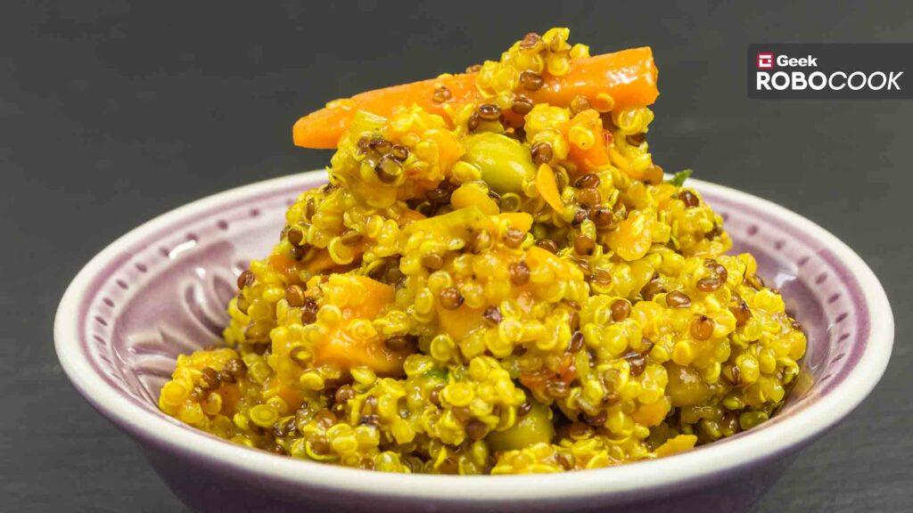 Coconut quinoa curry