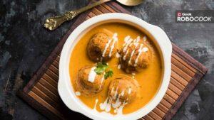 Kesariya Cheese Kofta curry
