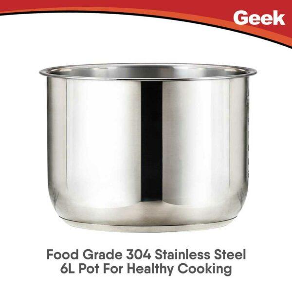 6L Stainless Steel Pot-Robocook Digi(2)