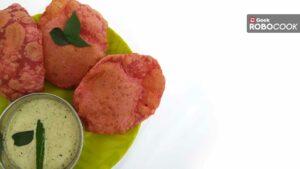 Beetroot Puri in robocook fryo
