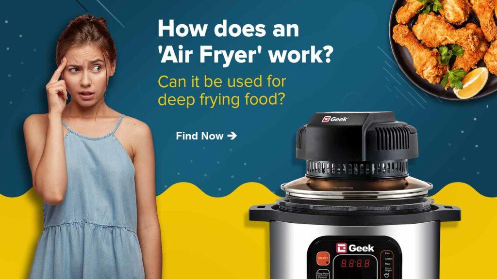 Air Fryer work